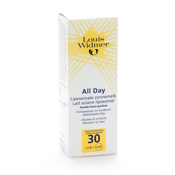 Widmer Sun All Day SPF30 Zonder Parfum 100 Ml - Louis Widmer - InstaCosmetic