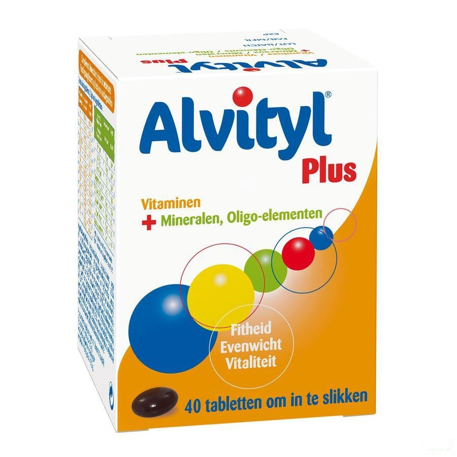 Alvityl Plus Tabletten 40 Verv.1208677