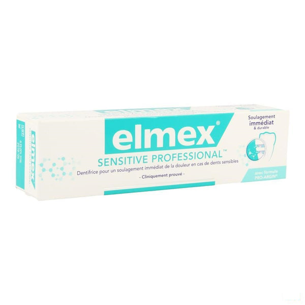 Elmex Sensitive Professional Tandpasta 75ml - Elmex-meridol - InstaCosmetic
