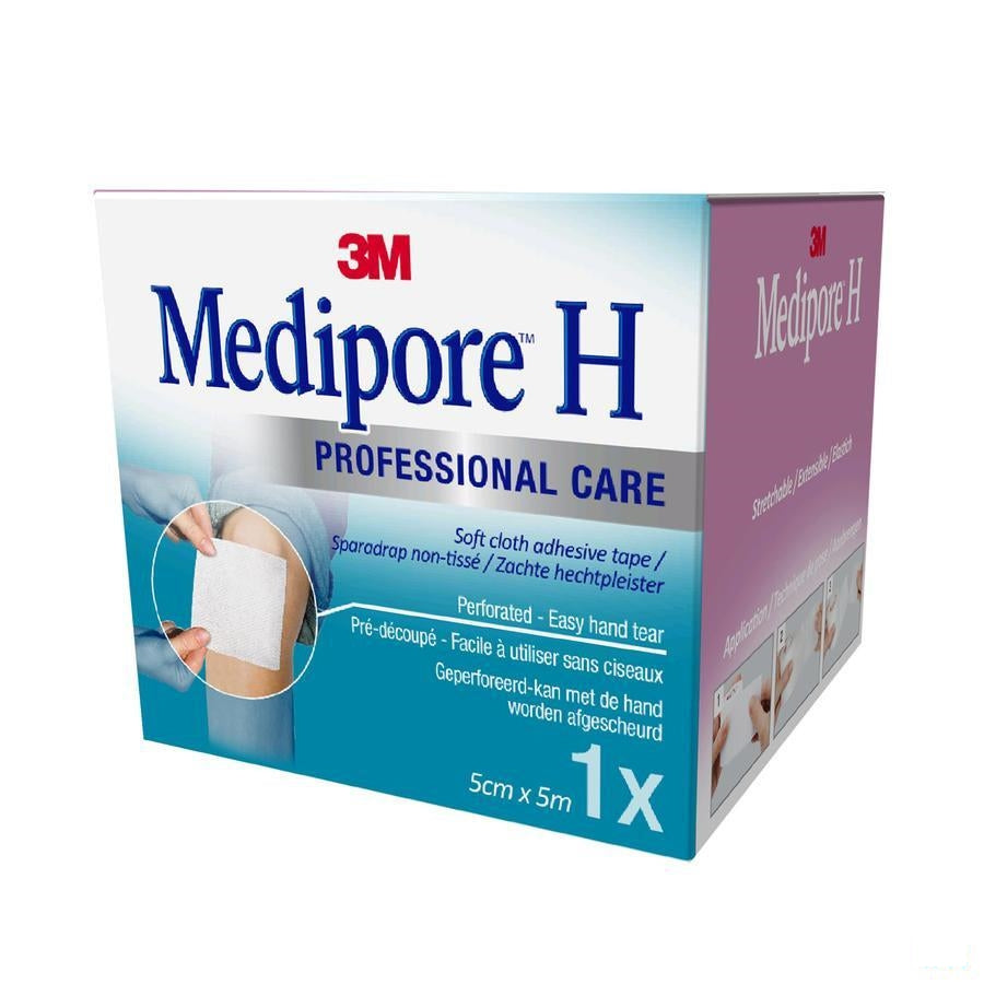 Medipore H Perforated 3m 5cmx5m 1 2862mp