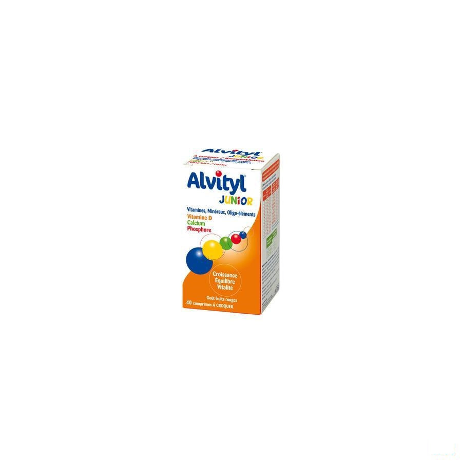 Alvityl Junior Kauwtablet 40