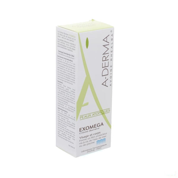 Aderma Exomega Barriere Creme Z/paraben Tube 100ml - Aderma - InstaCosmetic