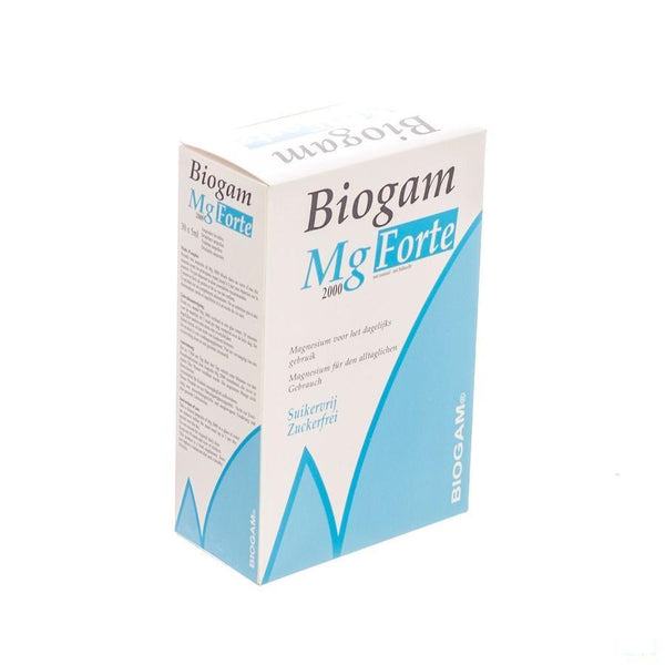 Biogam Mg Forte Drinkb. Amp 30x5ml - Sterop - InstaCosmetic