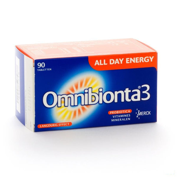 Omnibionta-3 All Day Energy Capsulen 90 - Merck - InstaCosmetic