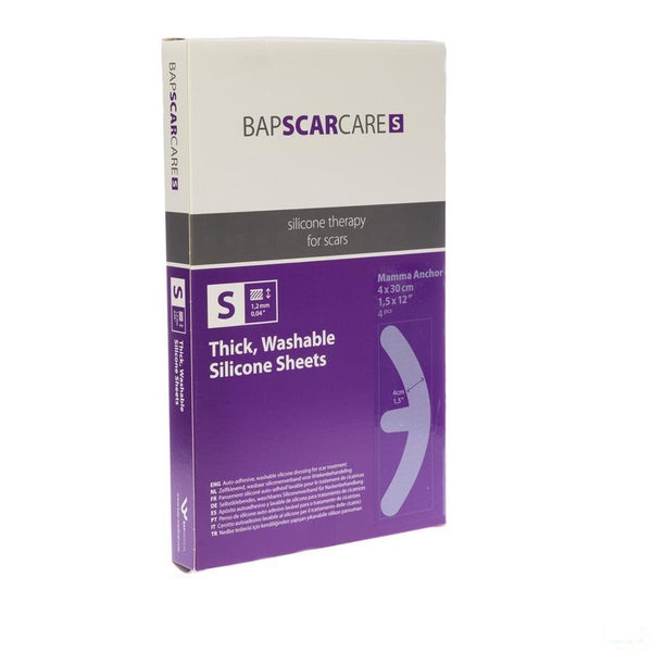 Bap Scar Care S Silicoonverb Adh 40x10x30cm 2 Paar - Bap Medical - InstaCosmetic
