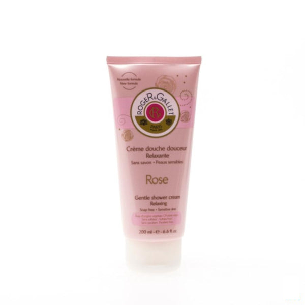 Roger&gallet Douchecreme Rozen Tube 200ml - Roger & Gallet - InstaCosmetic