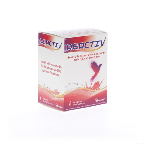 Reactiv 400mg Gel 60 - Phacobel - InstaCosmetic