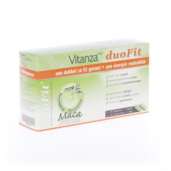 Vitanza Hq Duo Fit 2x30 Tabletten - Vitanza - InstaCosmetic