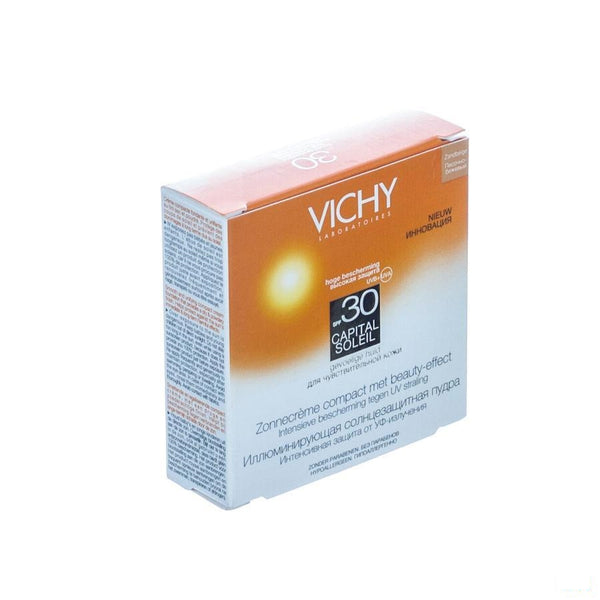 Vichy Capital Soleil Compact Poeder Light 10 G - Vichy - InstaCosmetic