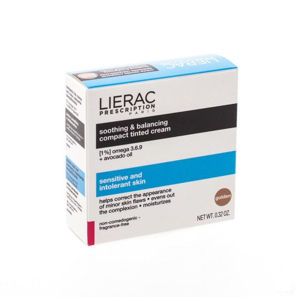 Lierac Prescription Cr Teint Comp.doree Apais. 10g - Lierac - InstaCosmetic