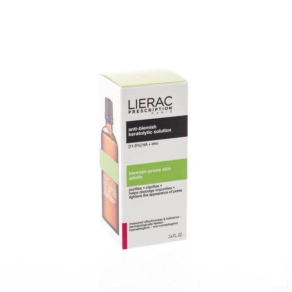 Lierac Prescription Solution Keratolytique 100 Ml - Lierac - InstaCosmetic