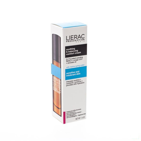 Lierac Prescription Creme Confort 40 Ml - Lierac - InstaCosmetic