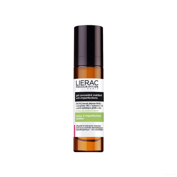 Lierac Prescription Gel Concentre Matifiant 40 Ml - Lierac - InstaCosmetic
