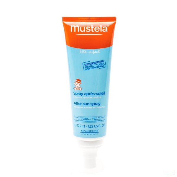 Mustela Zon Spray Aftersun Hydraterend 125ml - Mustela - InstaCosmetic