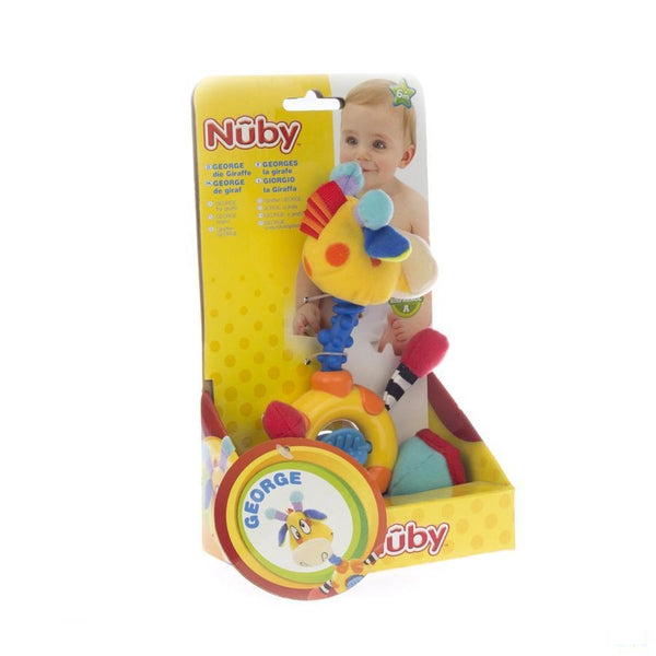 Nuby George Bijtfiguur+speeltje In 1 +6m - New Valmar - InstaCosmetic