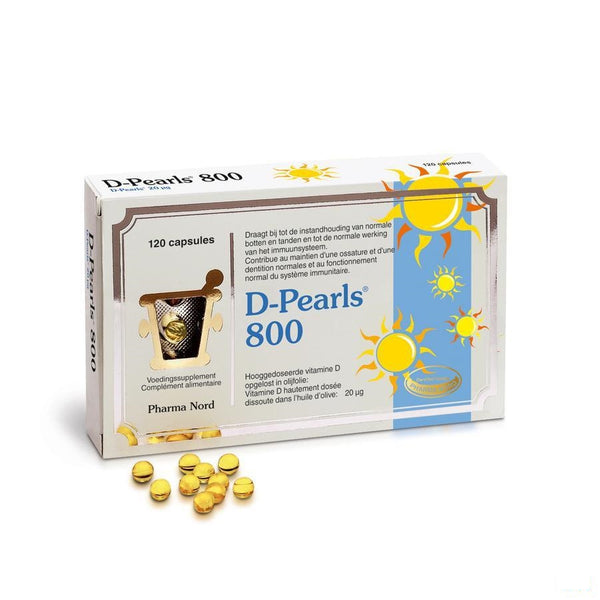 D-pearls 800 Capsules 120 - Pharma Nord - InstaCosmetic