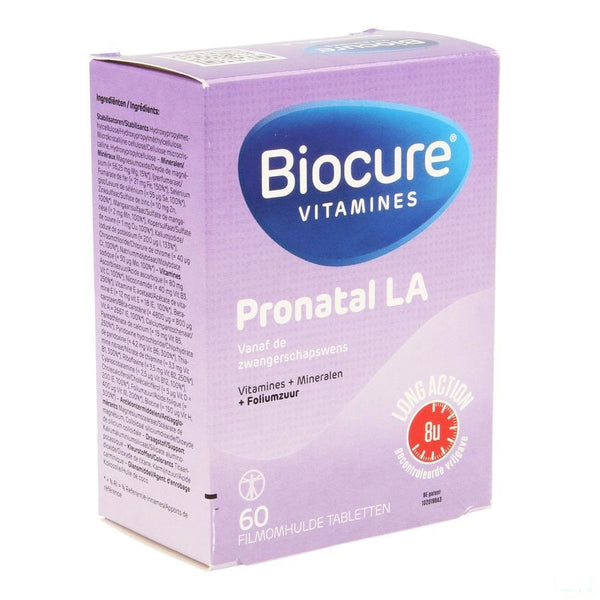 Biocure Pronatal Cr Tabletten 60 - Qualiphar - InstaCosmetic