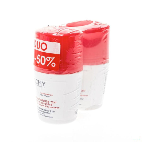 Vichy Deo Anti-Transpirantie Stress Resistant Rol Duo 2x50ml - Vichy - InstaCosmetic