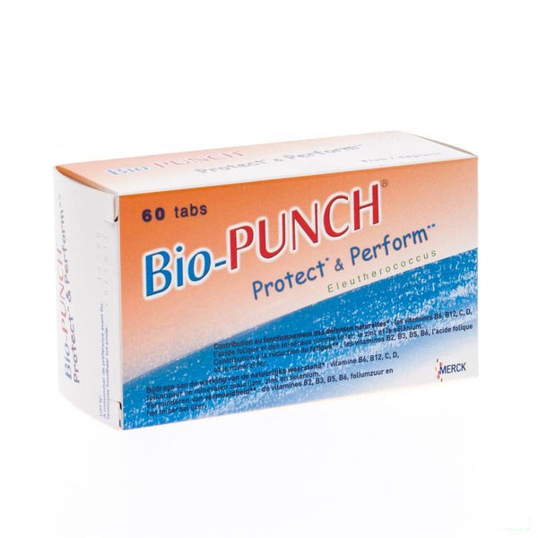 Bio Punch Protect & Perform Tabl 60 - Merck - InstaCosmetic