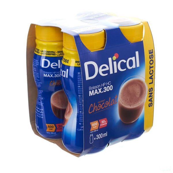 Delical Max 300 Chocolade 4x300ml - Bs Nutrition - InstaCosmetic