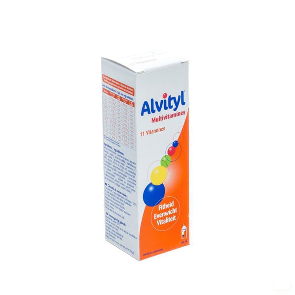 Alvityl Multivitaminen Drinkb.opl Fl 150ml - Urgo - InstaCosmetic