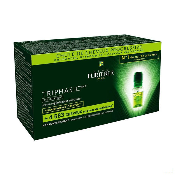 Furterer Triphasic Vht Atp Intensif 8x5,5ml - Furterer - InstaCosmetic