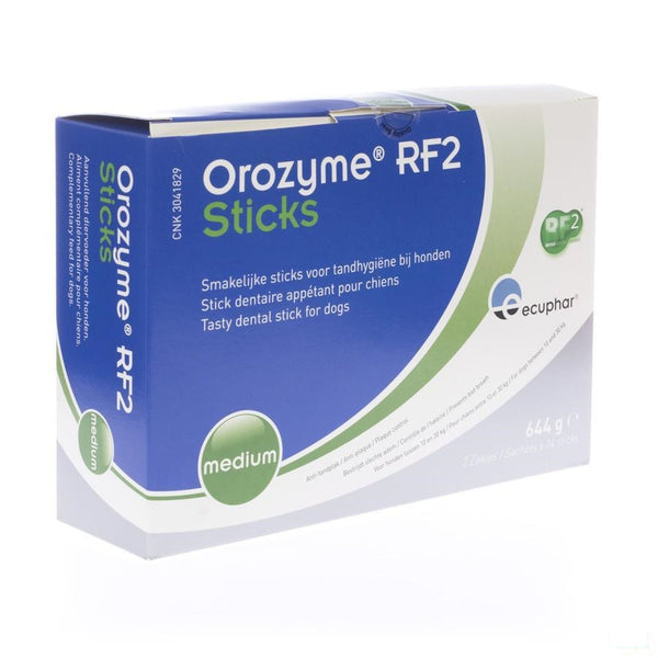 Orozyme Rf2 Smakelijke Stick Hond Medium 28 - Ecuphar Nv/sa - InstaCosmetic