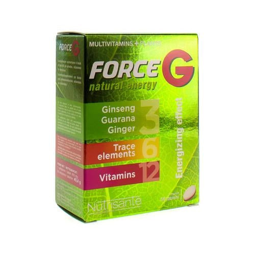 Force G Natural Energy Tabletten 56 - Nutrisante - InstaCosmetic