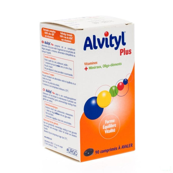 Alvityl Plus Tabletten 90 - Urgo - InstaCosmetic