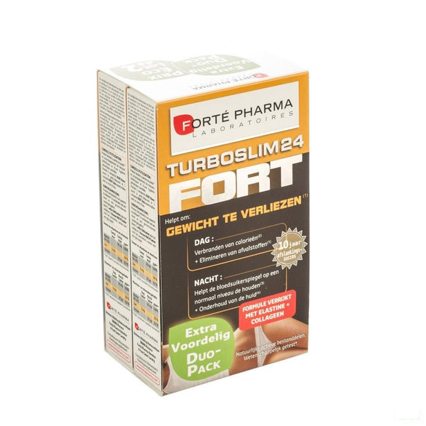 Turboslim 24 Fort Tabletten 2x28 - Forte Pharma - InstaCosmetic