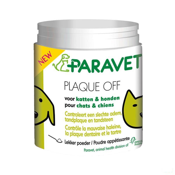 Paravet Plaque Off 40g - Axone Pharma - InstaCosmetic
