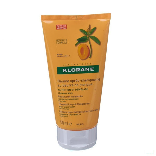 Klorane Balsem After Sh Mango Nieuwe Formule Tube 150ml - Klorane - InstaCosmetic