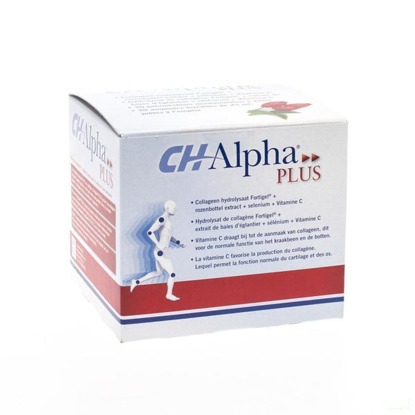 Ch-alpha Plus Drinkbare Amp 30x25ml - Tramedico - InstaCosmetic