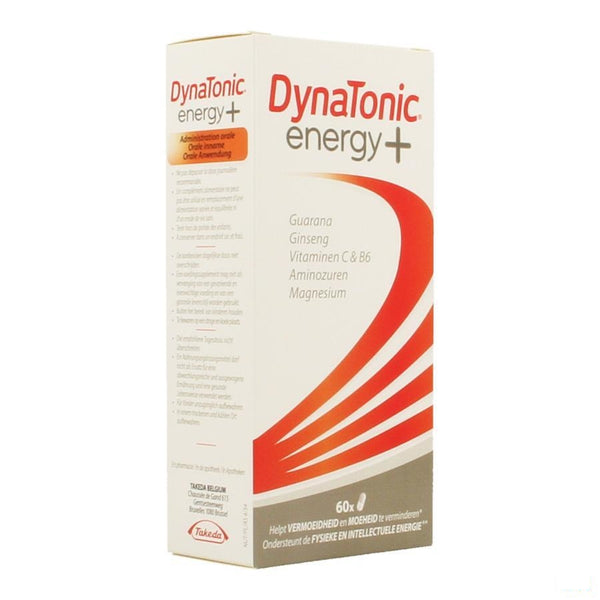 Dynatonic Energy+ Capsules 60 - Takeda - InstaCosmetic