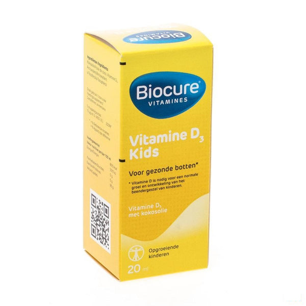 Biocure D3 Kids Gutt 20ml - Qualiphar - InstaCosmetic