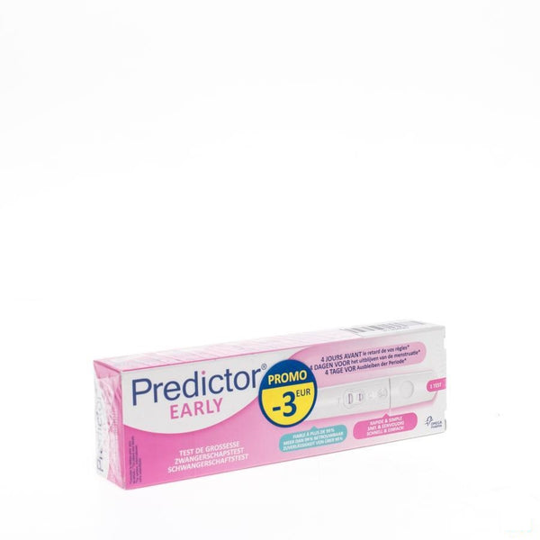Predictor Early Stage Test Promo -3eur