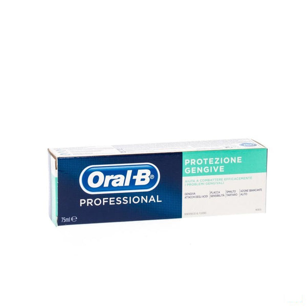 Oral B Professional Tandvlees Besch.tandpasta 75ml - Procter & Gamble - InstaCosmetic
