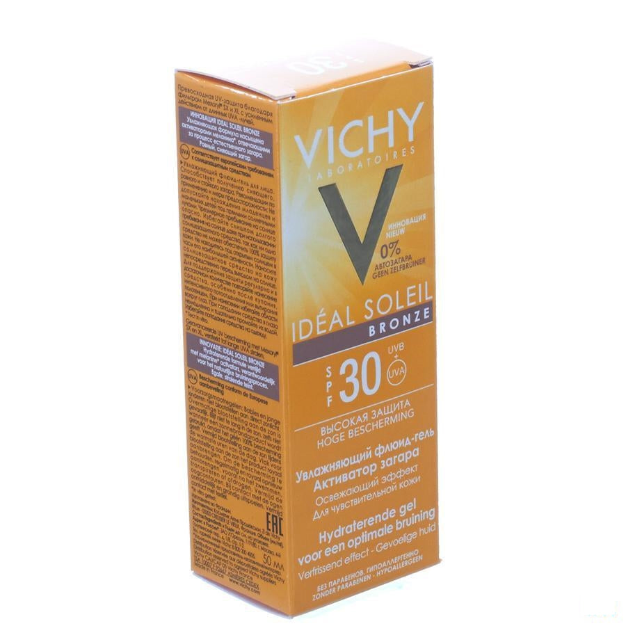 Vichy Capital Soleil Ideal Ip30 Bronze Gel 50 Ml