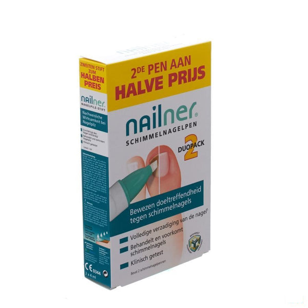 Nailner Pen Duopack 2x4ml - Patch Pharma - InstaCosmetic