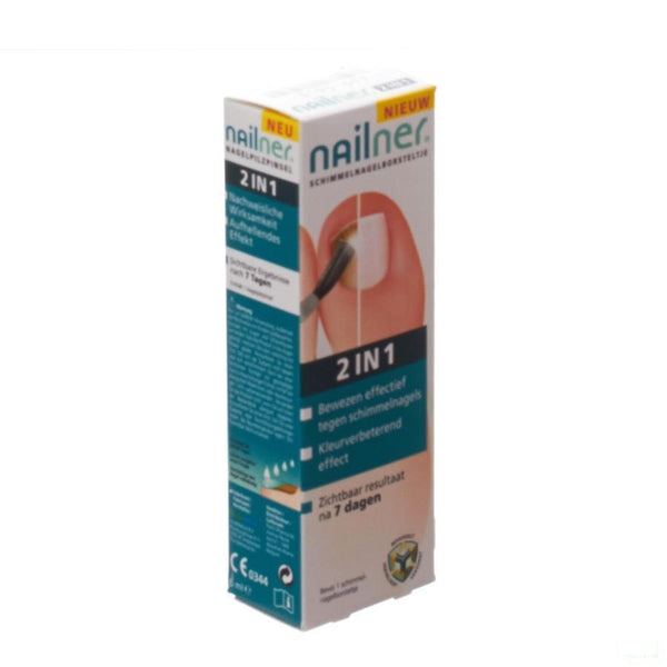 Nailner Brush 2in1 5ml - Patch Pharma - InstaCosmetic