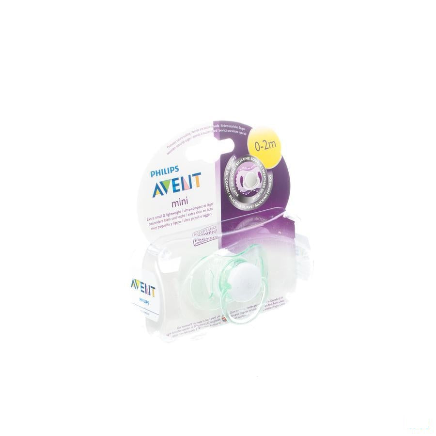 Avent Mini Fopspeen Unisex 0- 2m Single Pack