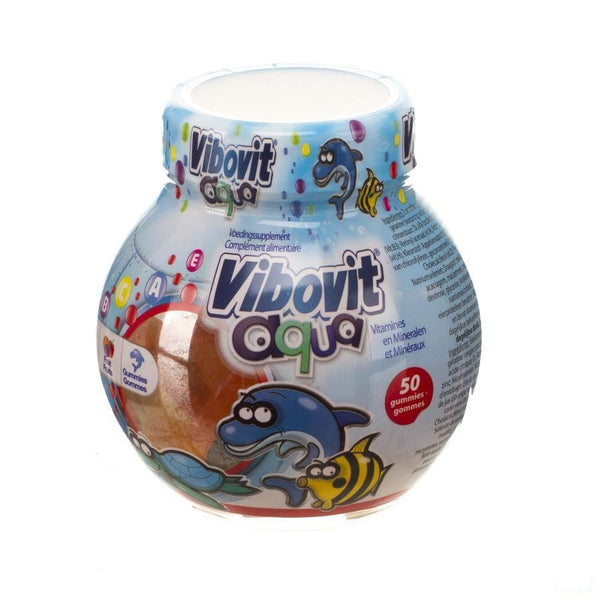Vibovit Junior 4+ Aqua Gummies 50 - Teva - InstaCosmetic