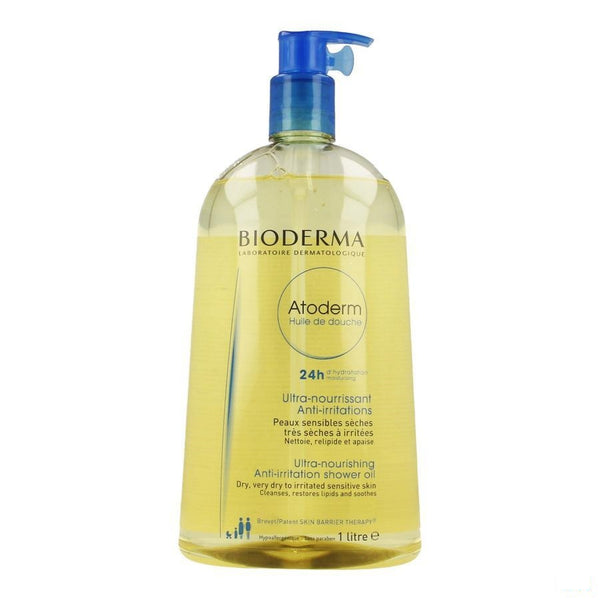 Bioderma Atoderm Doucheolie 1l - Bioderma - InstaCosmetic