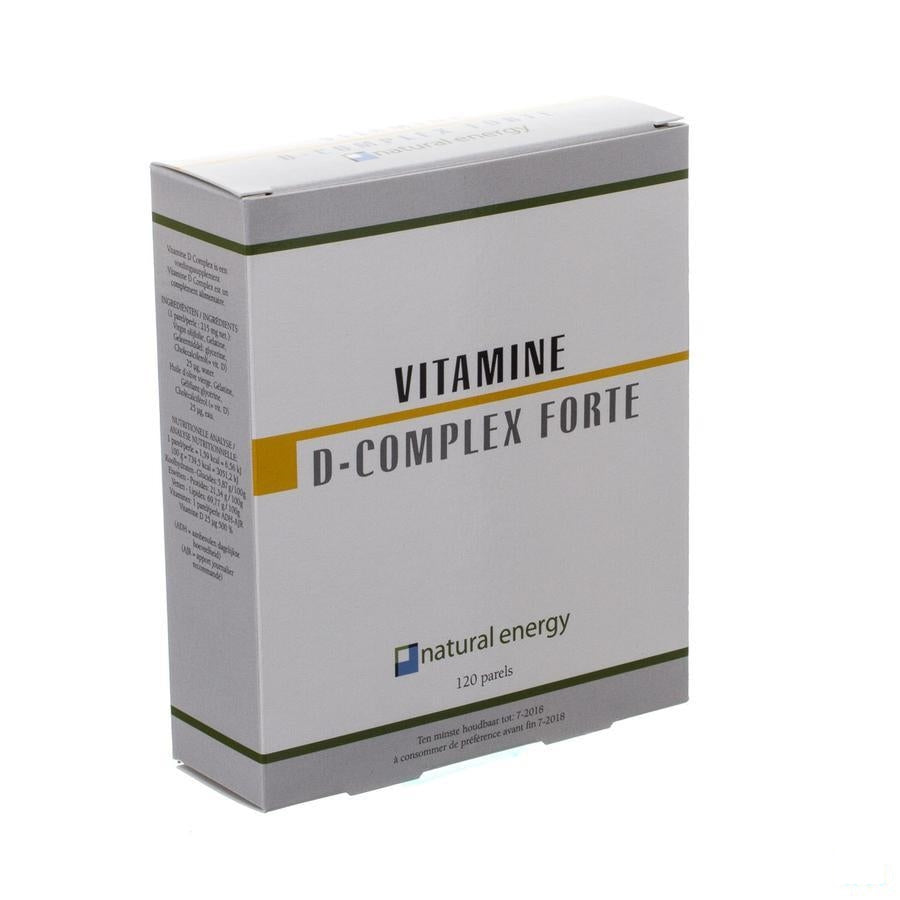 Vitamine D Complex Forte Natural Energy Parel 120