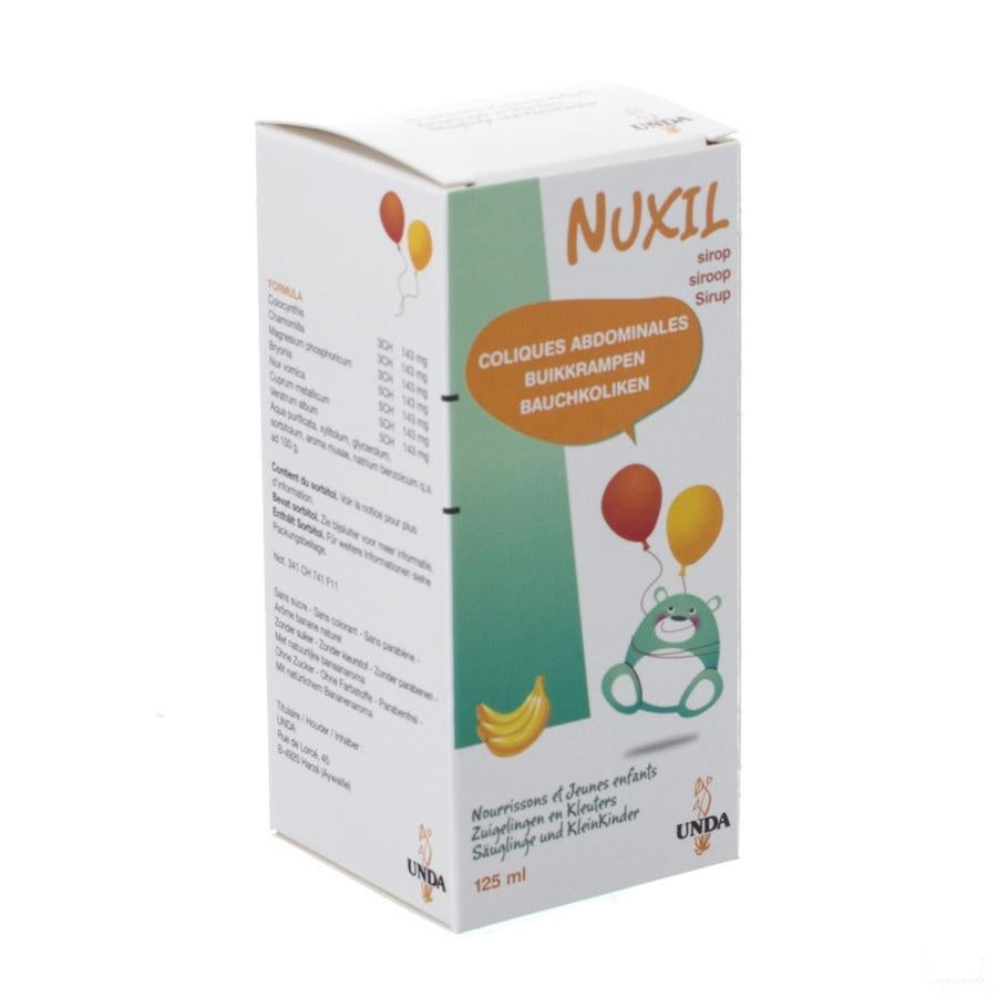 Nuxil Siroop Kind 125ml Unda