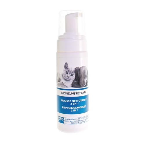 Frontline Pet Care Reinigingsmousse 2in1 150ml - Merial Belgium - InstaCosmetic