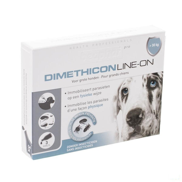 Beaphar Pro Dimethicon Line-on Grote Hond 3x4,5ml - Beaphar - InstaCosmetic