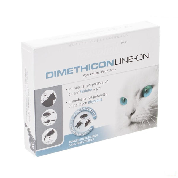 Beaphar Pro Dimethicon Line-on Kat 3x1ml - Beaphar - InstaCosmetic