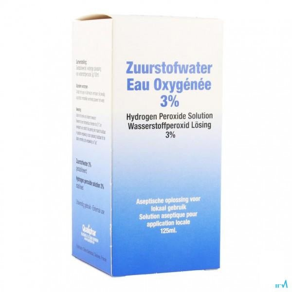 Zuurstofwater 3% Qualiphar 125ml