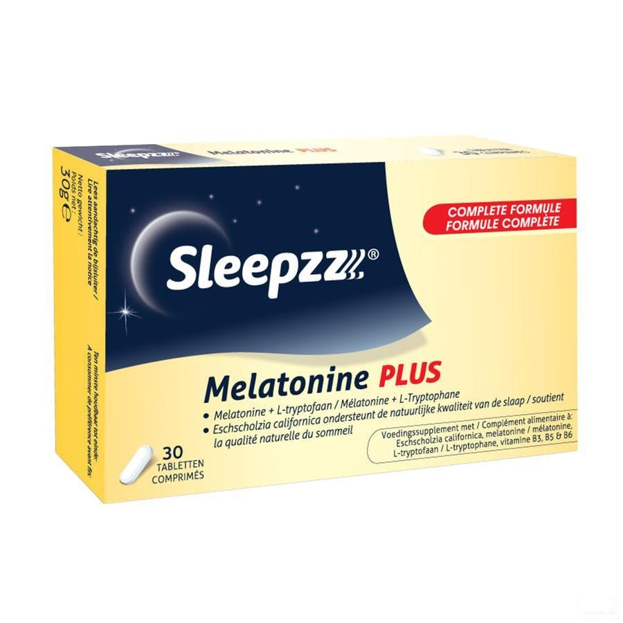 Sleepzz Melatonine Plus Tabletten 30